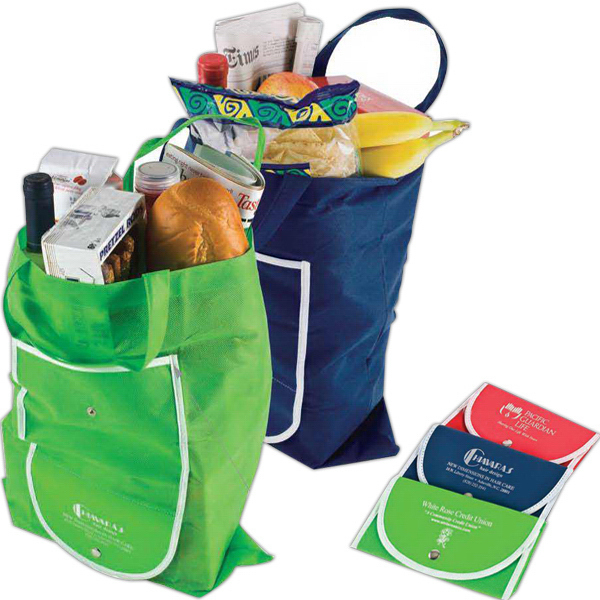 Imprinted Supermarket Shopper / Shopping Bag