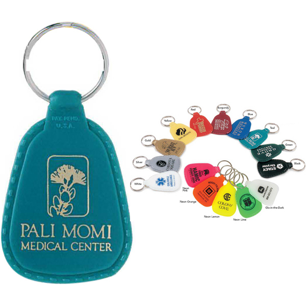 Imprinted Colorama Keytag