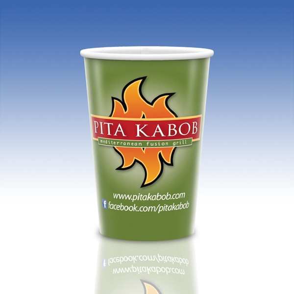 Promotional Visstun® 20oz Heavy Duty Paper Hot Cup-Full Color
