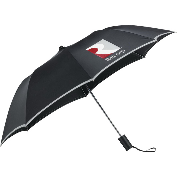 "Custom 42"" Auto Folding Safety Umbrella"