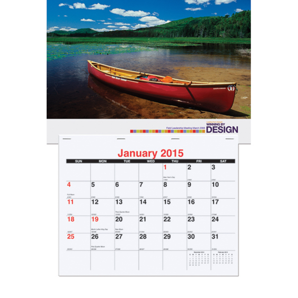 Promotional Mailable Monthly Wall Calendar