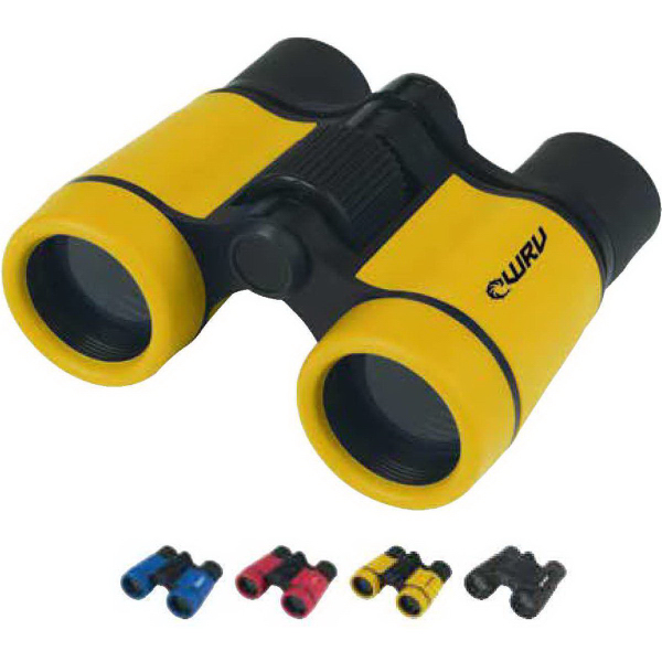 Imprinted Sports Rubber Binoculars