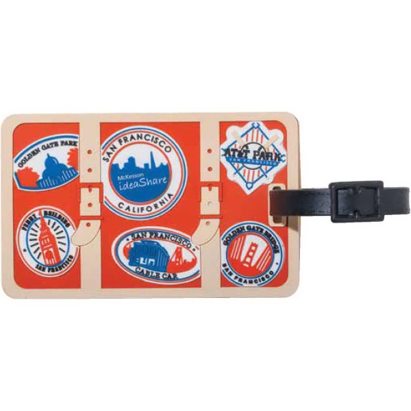 Promotional Your Custom 2-D Luggage Tag