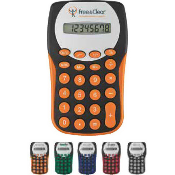 Imprinted Black Magic Slim Calculator
