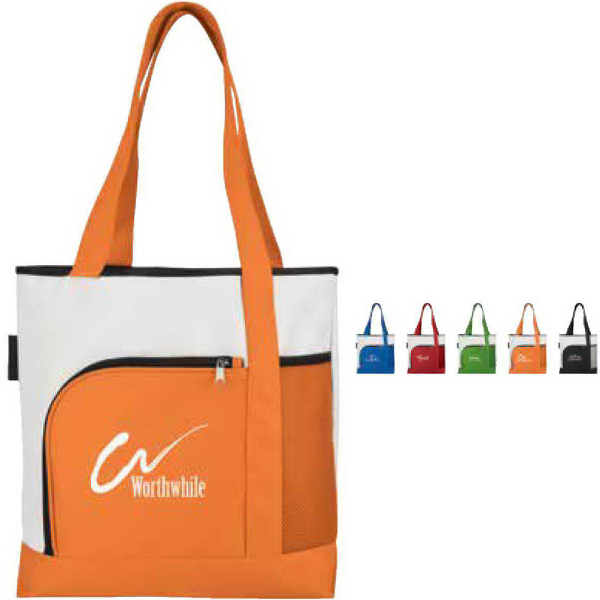 Personalized Color Bright Large Tote
