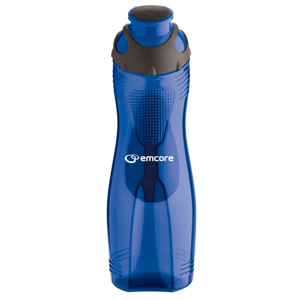 Customized 28 oz. Long-n-Lean Easy Grip Bottle
