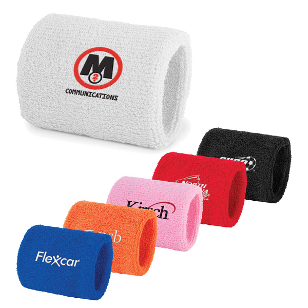 Personalized Plush Terry Sport Wristband