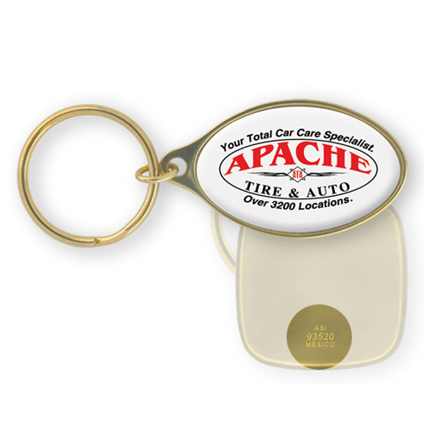 Promotional Brass Key Tag