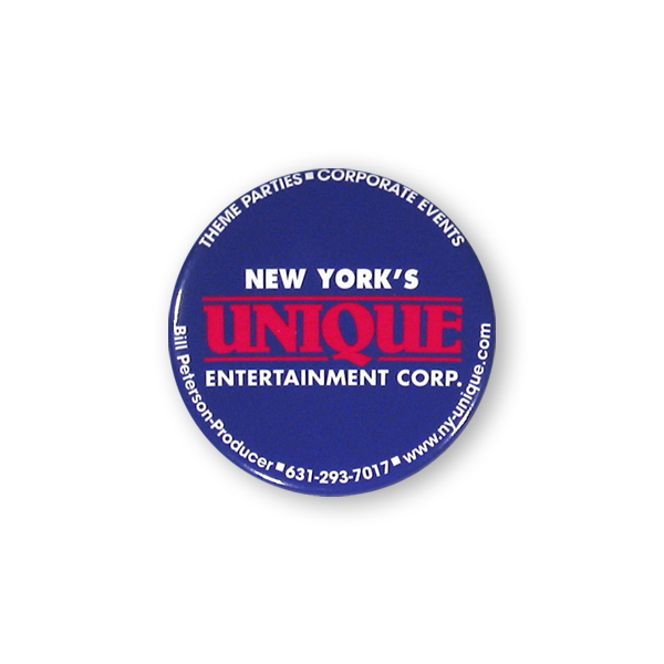 Customized Button Magnet - 2 inches round