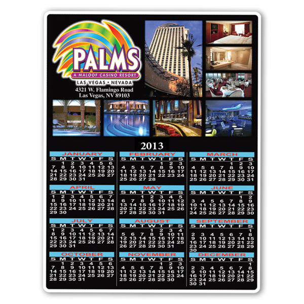 Personalized Calendar Sheet - 8 1/2 inches x 11 inches