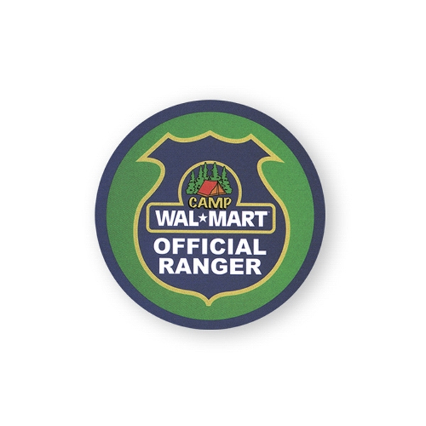 Imprinted Lapel Sticker - 2 1/4 inches