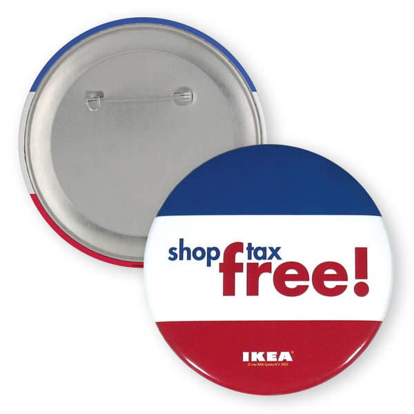 Custom Button - 3 inch Round Button