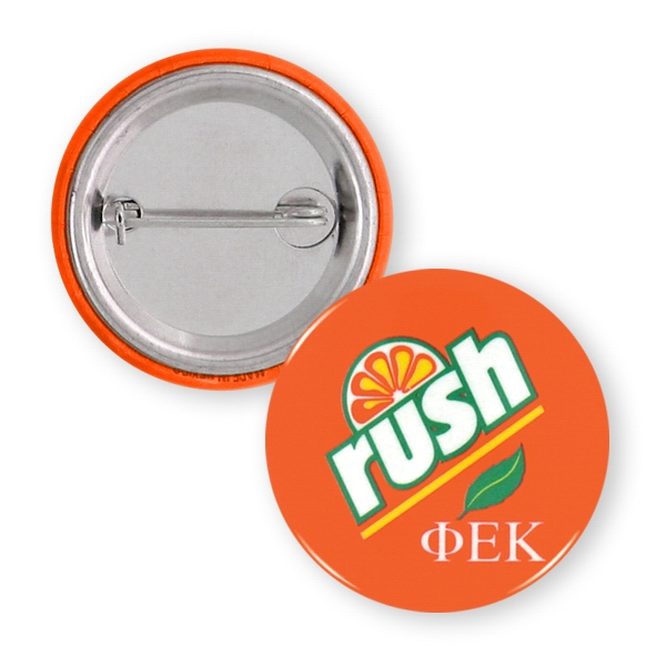 Printed Button - 1 1/4 inch Round Button