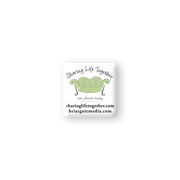 Printed Domed Decal - 1 1/2 inches