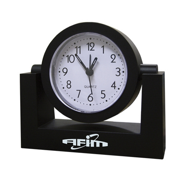 Personalized Swivel Alarm Clock
