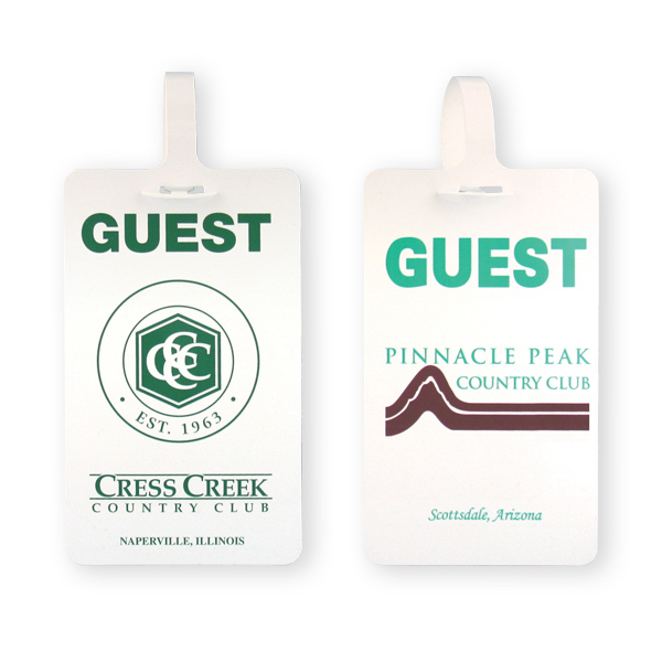 Customized Golf Bag Tag