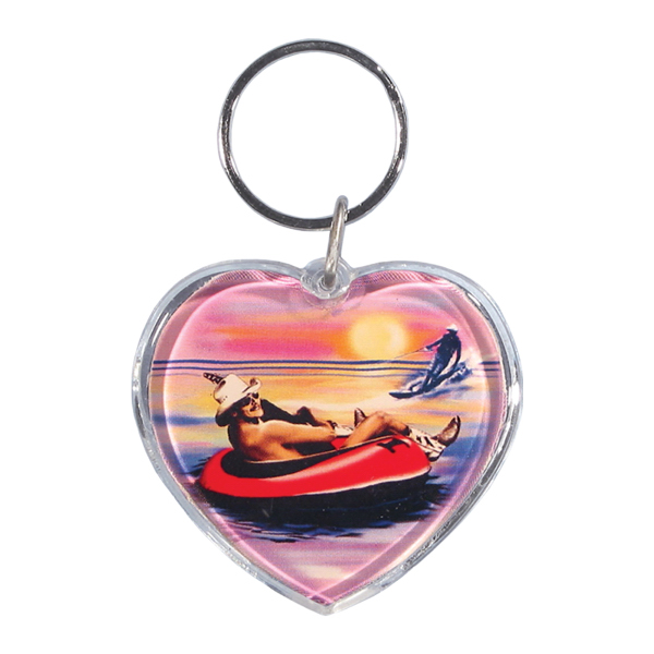 Promotional Acrylic Key Tag