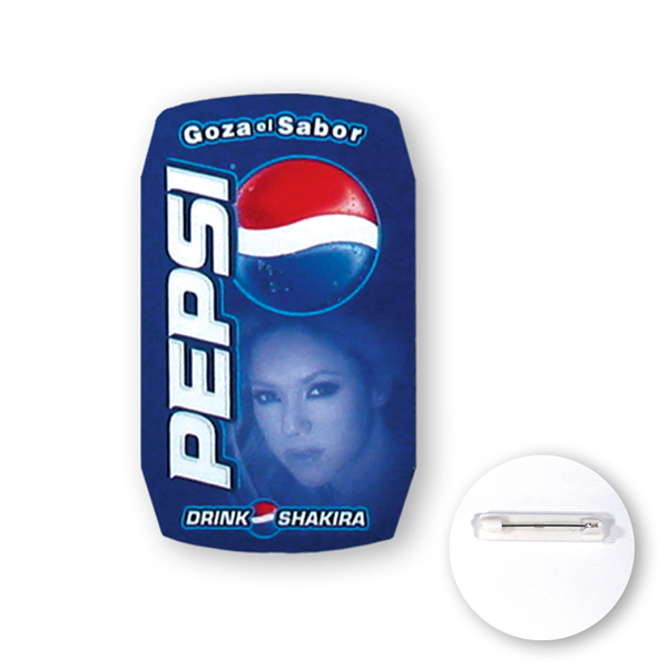 Personalized Can shaped poly button
