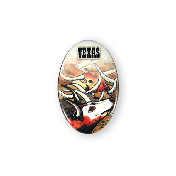 Customized Button Magnet- oval
