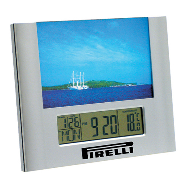 Customized Photo Frame Clock