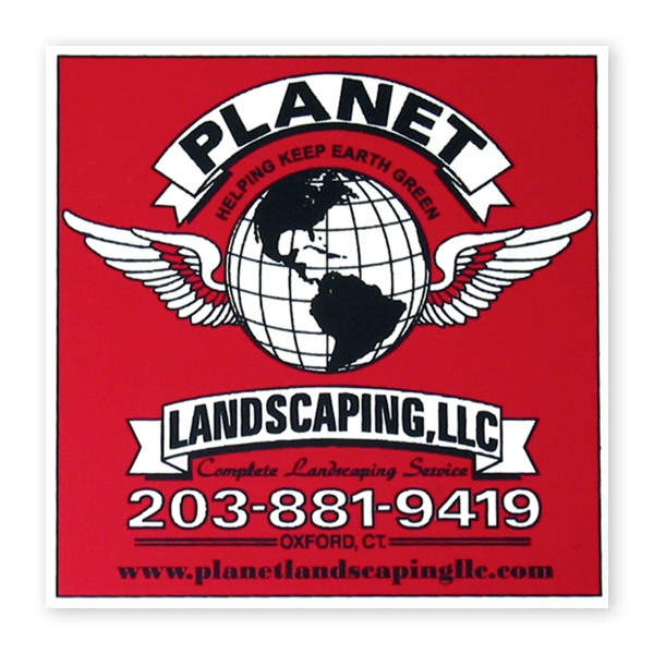 Promotional Car Magnet- square