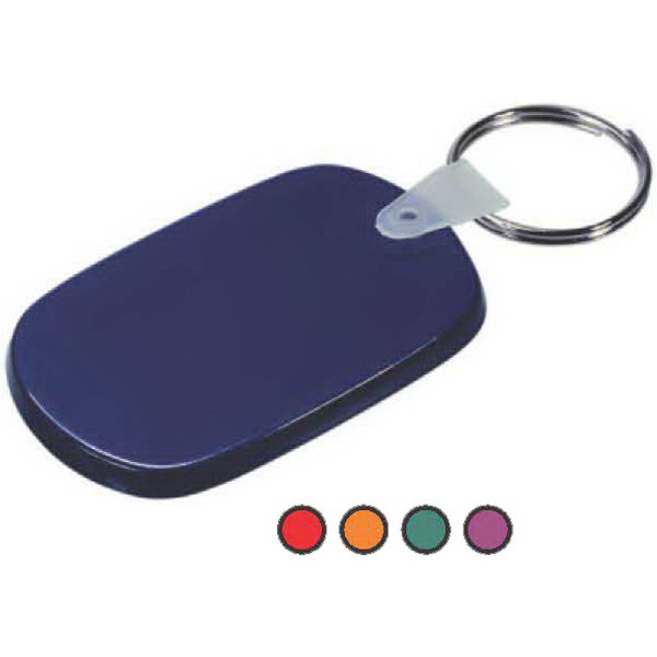 Imprinted Soft Vinyl Key Tag