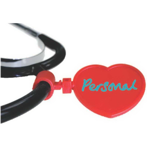 Customized Heart Shape Stethoscope ID Tag