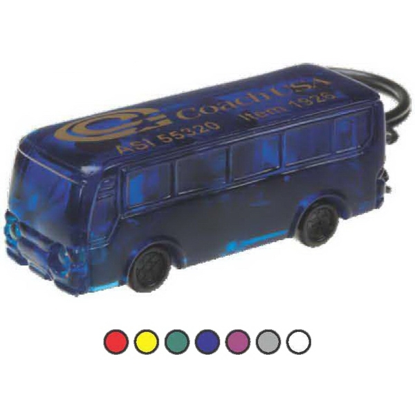 Customized Bus/Motorcoach Flashlight with 2 White Headlights