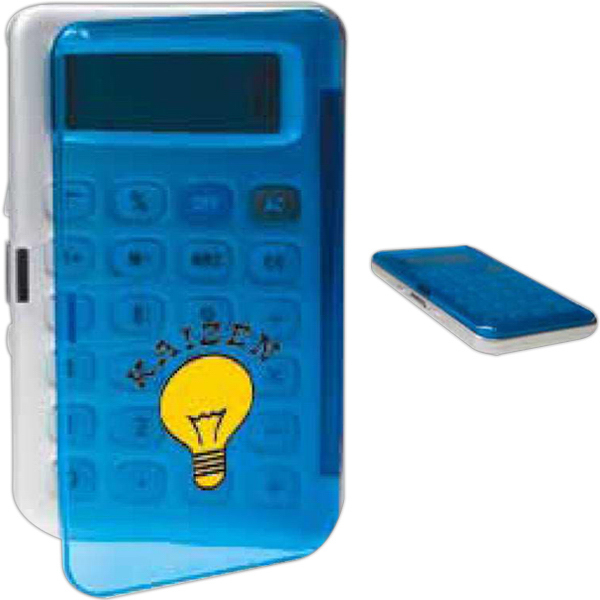 Promotional Gloss Cover Pocket Calculator