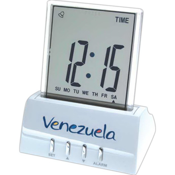 Printed Push Screen Display Clock