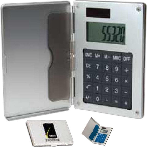 Customized Business Card Holder/Calculator