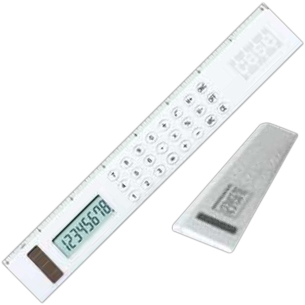 Printed Aluminum Ruler Calculator