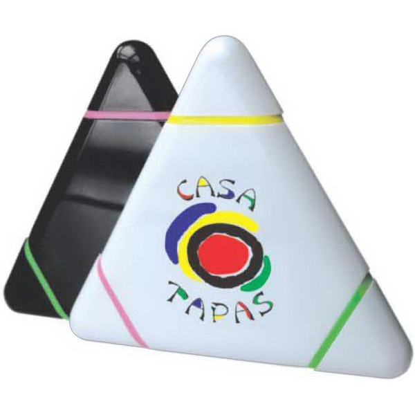 Personalized 3 color Triangular Highlighter