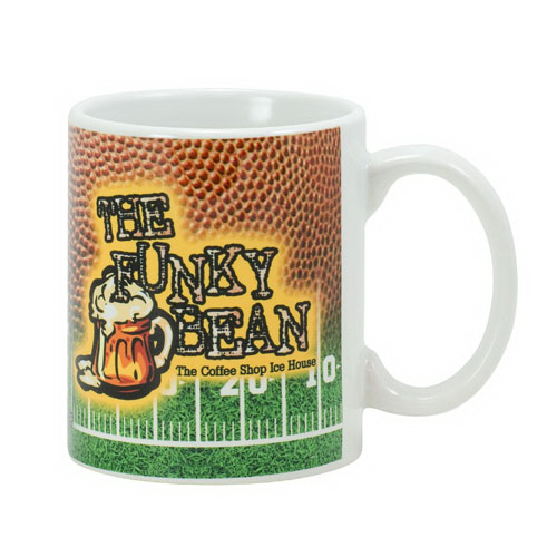 Printed White Sublimation Mug 11 oz.