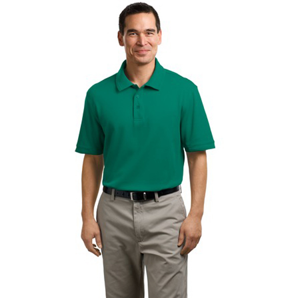 Promotional Port Authority® performance waffle mesh sport polo