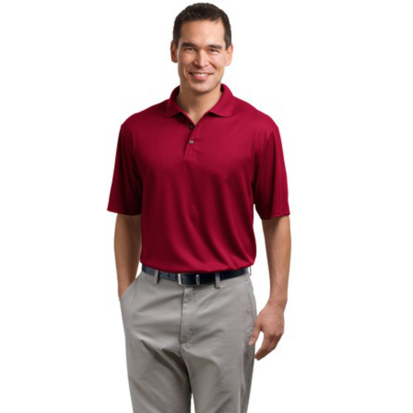 Custom Port Authority® performance fine jacquard sport shirt