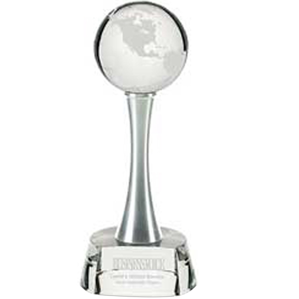 Imprinted World Above Award - Large
