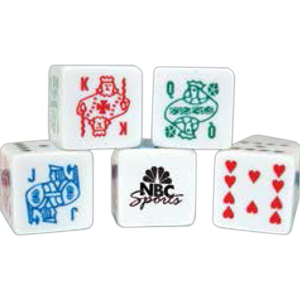 Promotional Custom Poker Dice