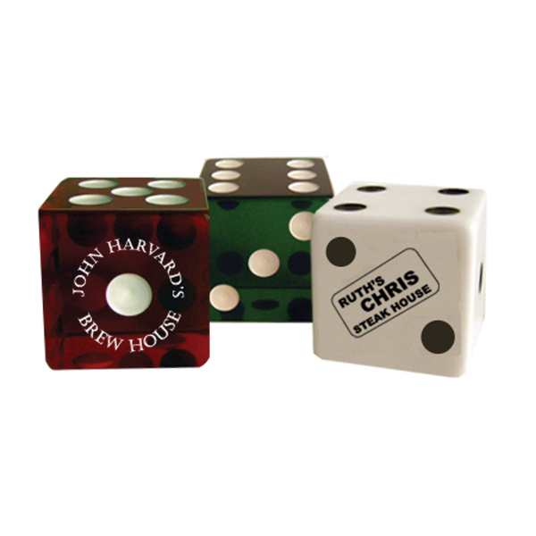 "Personalized Custom Dice - 2"" Jumbo Dice"