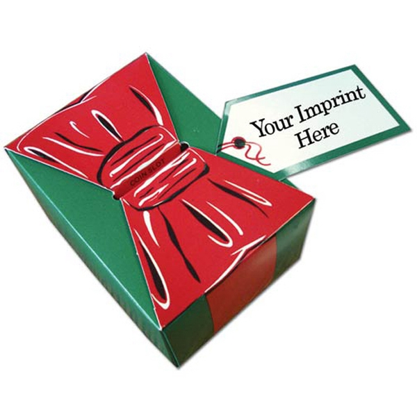 Imprinted Small Red Bow Gift Box