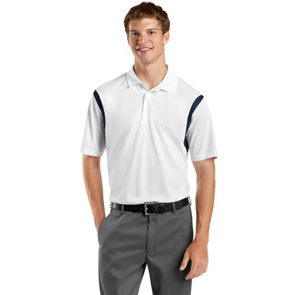 Personalized Sport-Tek®  back blocked micropique Sport-Wick® polo