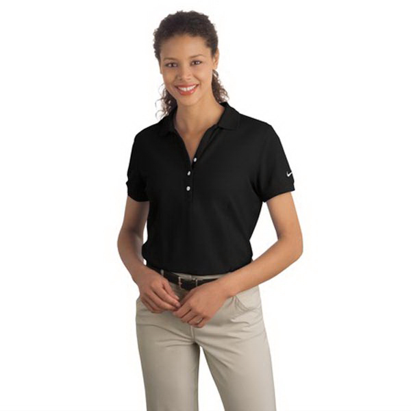 Custom Nike golf ladies' pique knit sport polo