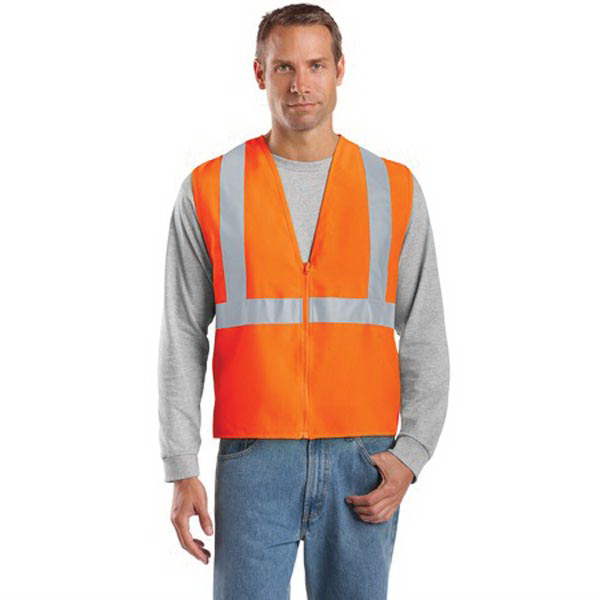 Custom Cornerstone® ANSI class 2 safety vest