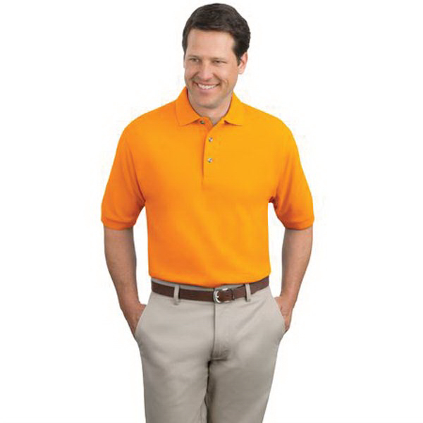 Promotional Port Authority® pique knit sport polo
