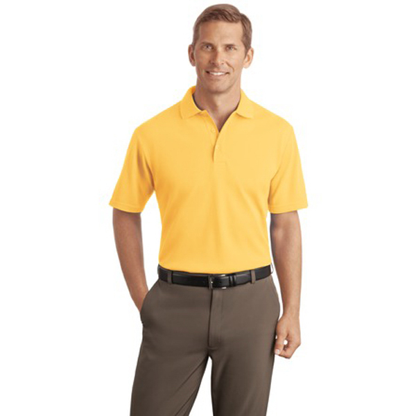 Custom Port Authority® textured sport shirt with wicking