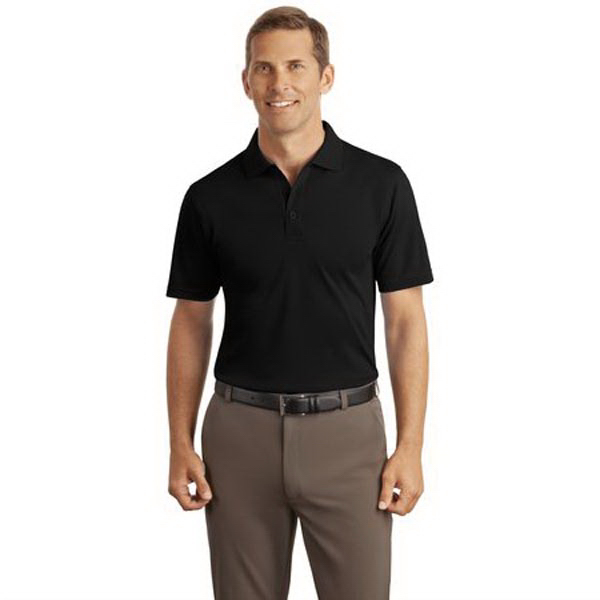 Imprinted Port Authority® Silk Touch interlock sport shirt