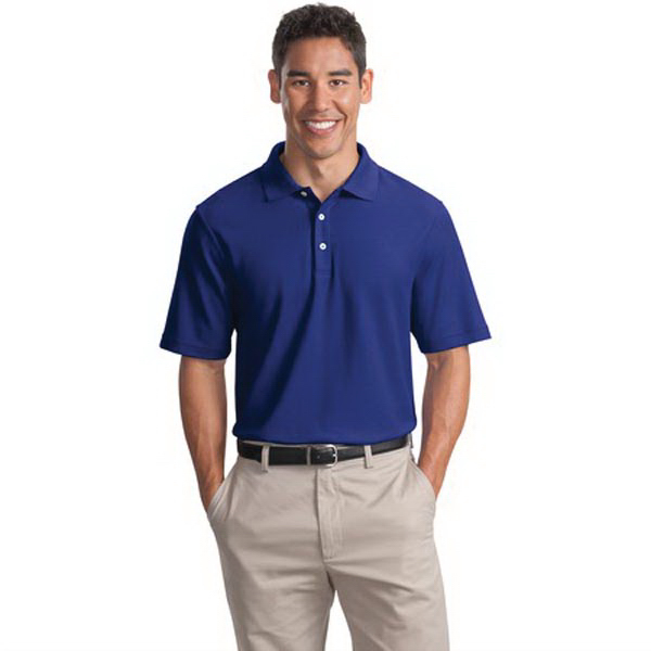 Custom Port Authority® EZCotton (TM) pique sport polo