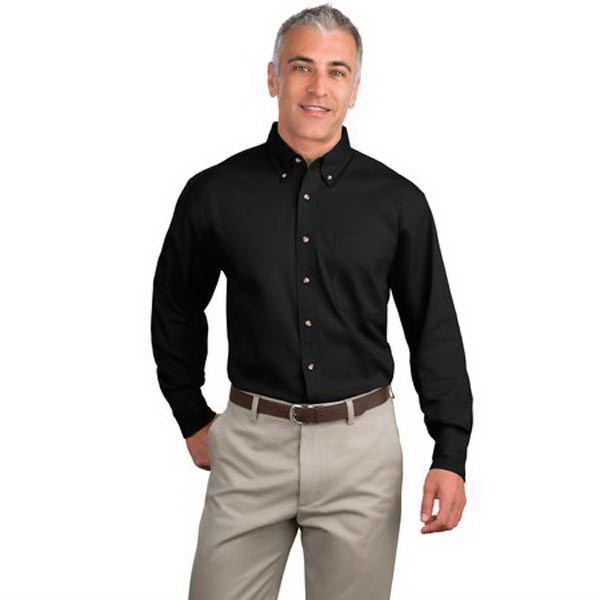 Personalized Port Authority® long sleeve twill shirt