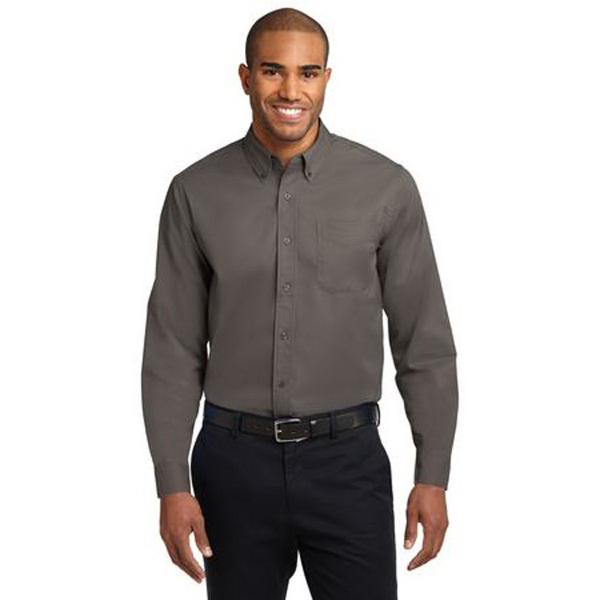 Promotional Port Authority® long sleeve tall size easy care shirt