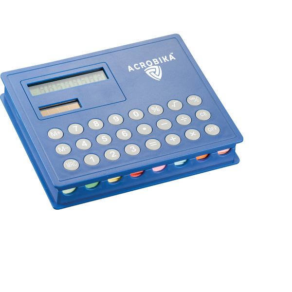 Imprinted Calculator and Sticky Note Case
